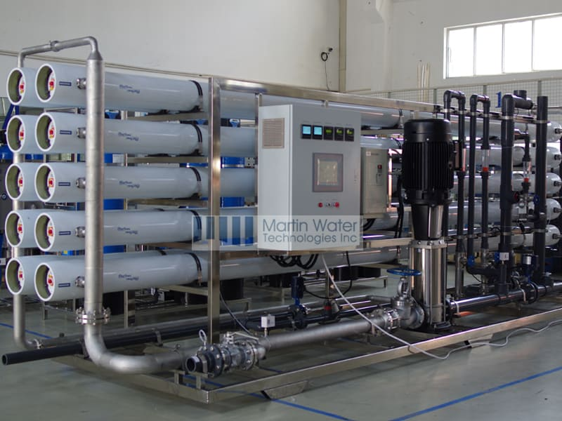 drinking water plant project